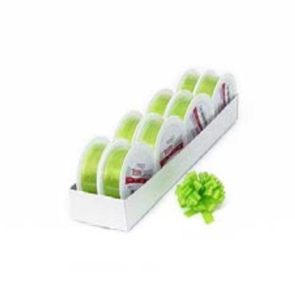 Лента с нишка за набиране, 10 mm, 3m Лента с нишка за набиране, 10 mm, 3m, светло зелена