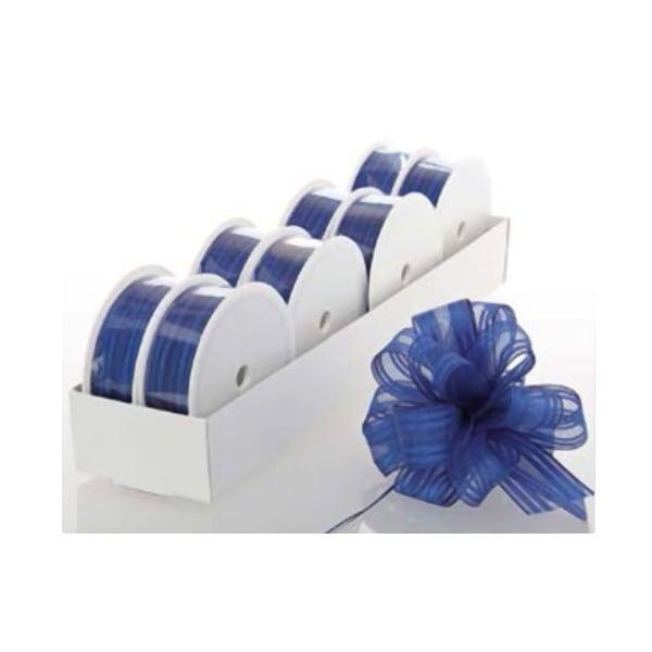 Лента с нишка за набиране, 25 mm, 3m Лента с нишка за набиране, 25 mm, 3m, кралско синя