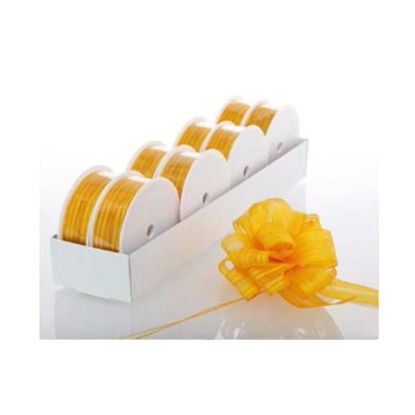 Лента с нишка за набиране, 25 mm, 3m Лента с нишка за набиране, 25 mm, 3m, лимонено жълта