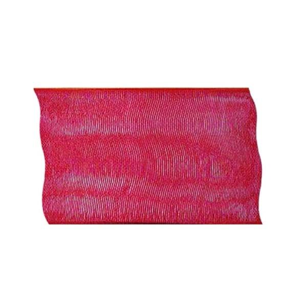 Лента шифон, 100 mm, 2m Лента шифон, 100 mm, 2m, червена
