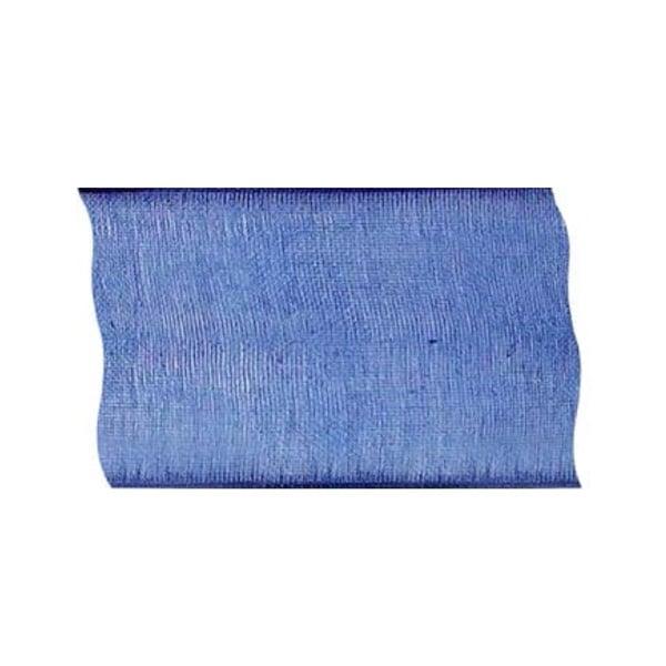 Лента шифон, 100 mm, 2m Лента шифон, 100 mm, 2m, кралско синя