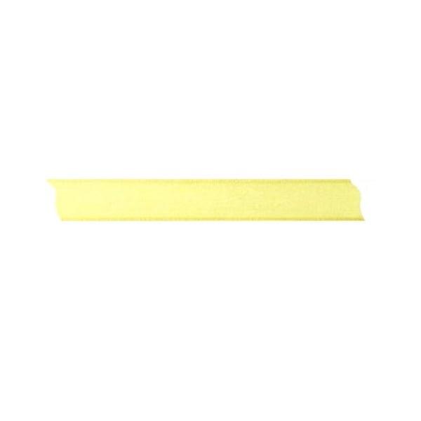 Лента шифон, 15 mm, 10m Лента шифон, 15 mm, 10m, светло жълта