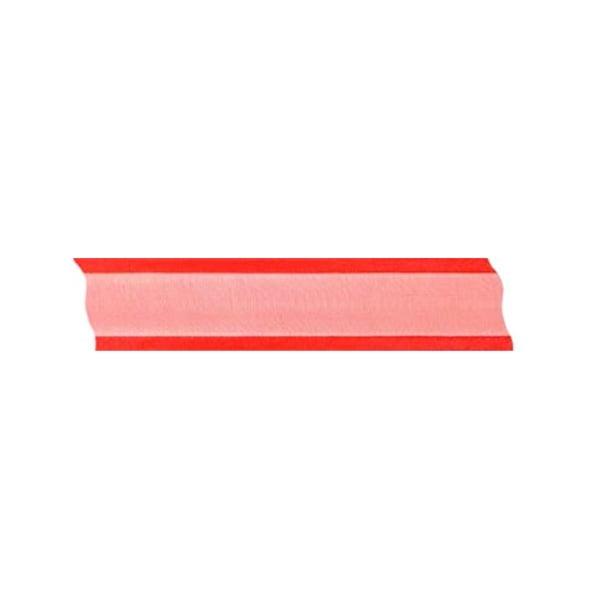 Лента шифон, 25 mm, 25m Лента шифон, 25 mm, 25m, червена