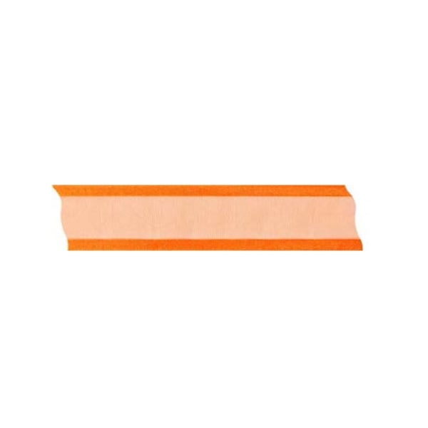 Лента шифон, 25 mm, 25m Лента шифон, 25 mm, 25m, оранжева