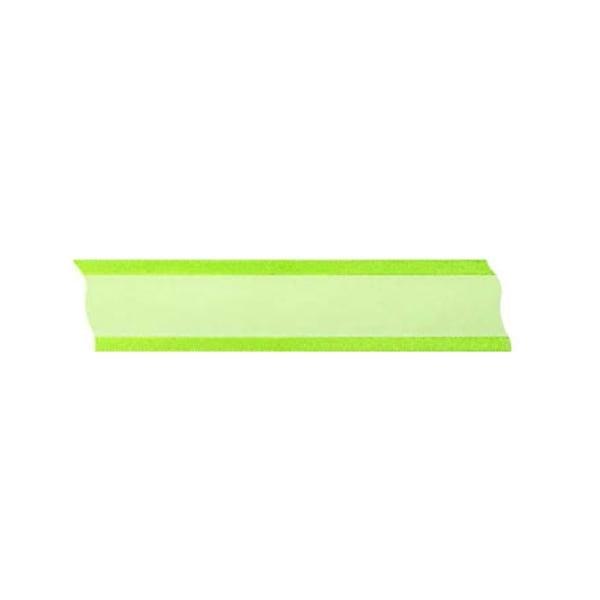 Лента шифон, 25 mm, 25m Лента шифон, 25 mm, 25m, светло зелена