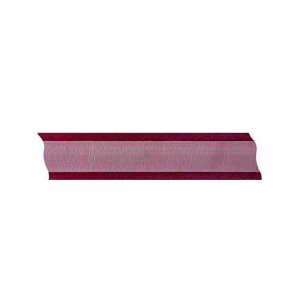 Лента шифон, 25 mm, 25m Лента шифон, 25 mm, 25m, винено червена