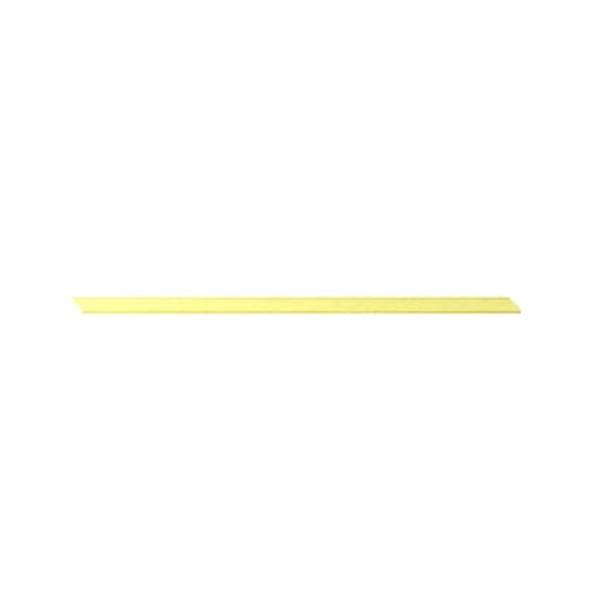 Лента шифон, 3 mm, 10m Лента шифон, 3 mm, 10m, светло жълта