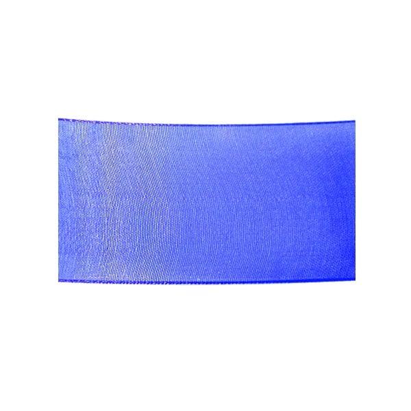 Лента шифон, 40 mm, 10m Лента шифон, 40 mm, 10m, кралско синя