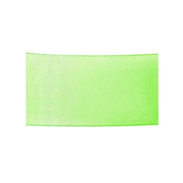 Лента шифон, 40 mm, 10m Лента шифон, 40 mm, 10m, светло зелена