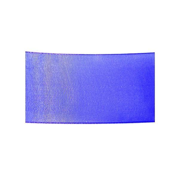 Лента шифон, 40 mm, 10m Лента шифон, 40 mm, 10m, тъмно синя