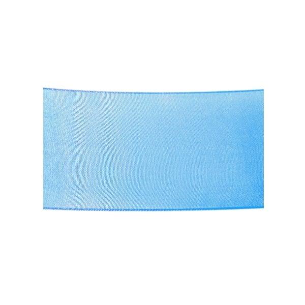 Лента шифон, 40 mm, 10m Лента шифон, 40 mm, 10m, турско синя
