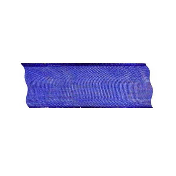 Лента шифон DRAHT, 40 mm, 5m Лента шифон DRAHT, 40 mm, 5m, кралско синя