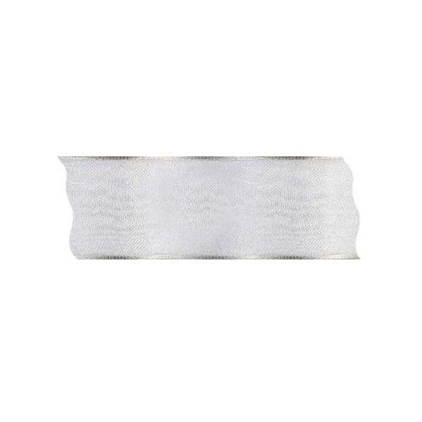 Лента шифон DRAHT, 40 mm, 5m Лента шифон DRAHT, 40 mm, 5m, кремава