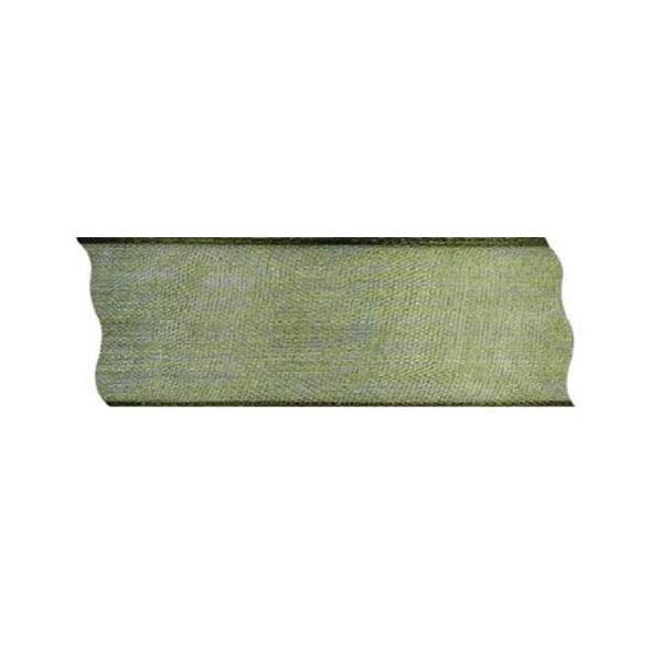 Лента шифон DRAHT, 40 mm, 5m Лента шифон DRAHT, 40 mm, 5m, мъхово зелена