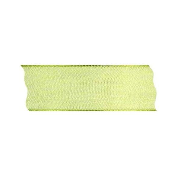 Лента шифон DRAHT, 40 mm, 5m Лента шифон DRAHT, 40 mm, 5m, светло зелена