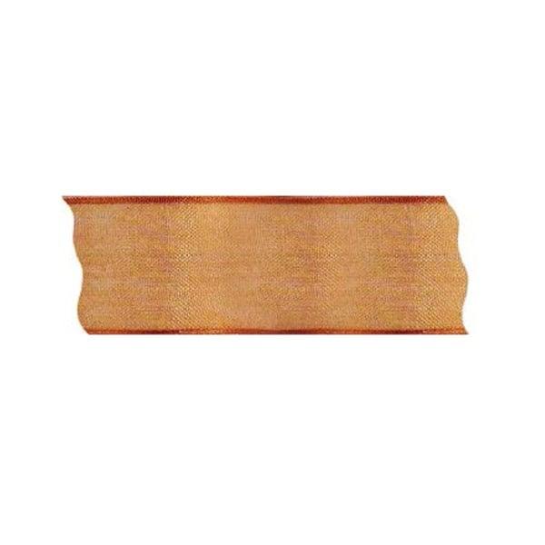 Лента шифон DRAHT, 40 mm, 5m Лента шифон DRAHT, 40 mm, 5m, тъмно оранжева