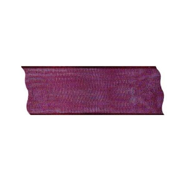 Лента шифон DRAHT, 40 mm, 5m Лента шифон DRAHT, 40 mm, 5m, винено червена