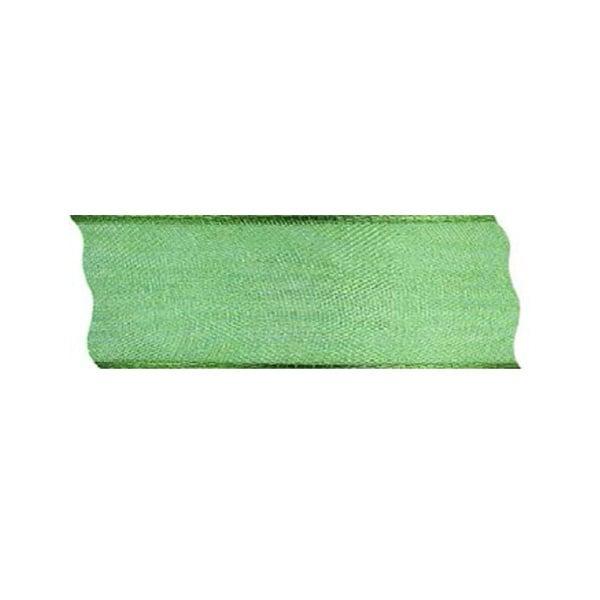 Лента шифон DRAHT, 40 mm, 5m Лента шифон DRAHT, 40 mm, 5m, зелена