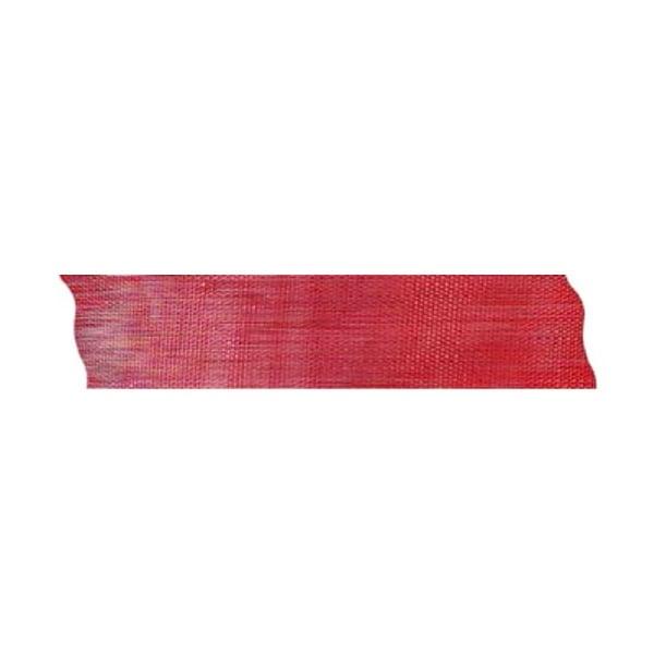 Лента шифон рязана, 25 mm, 10m Лента шифон рязана, 25 mm, 10m, червена