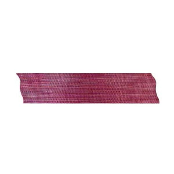 Лента шифон рязана, 25 mm, 10m Лента шифон рязана, 25 mm, 10m, винено червена