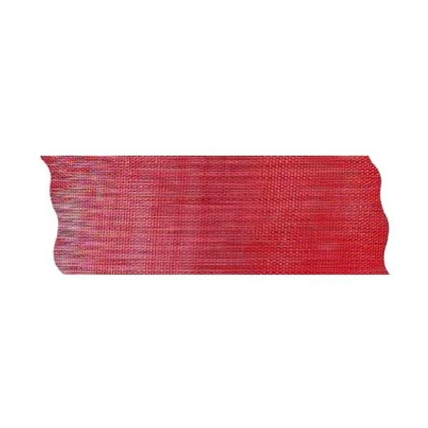 Лента шифон рязана, 40 mm, 10m Лента шифон рязана, 40 mm, 10m, червена