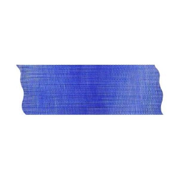 Лента шифон рязана, 40 mm, 10m Лента шифон рязана, 40 mm, 10m, кралско синя