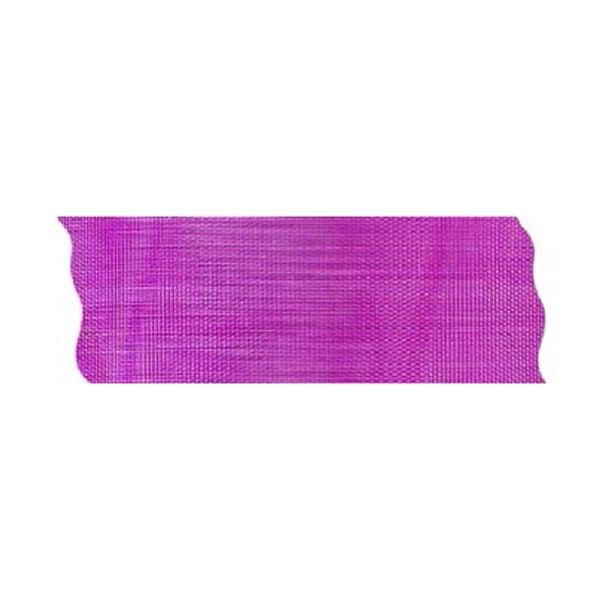 Лента шифон рязана, 40 mm, 10m Лента шифон рязана, 40 mm, 10m, розова