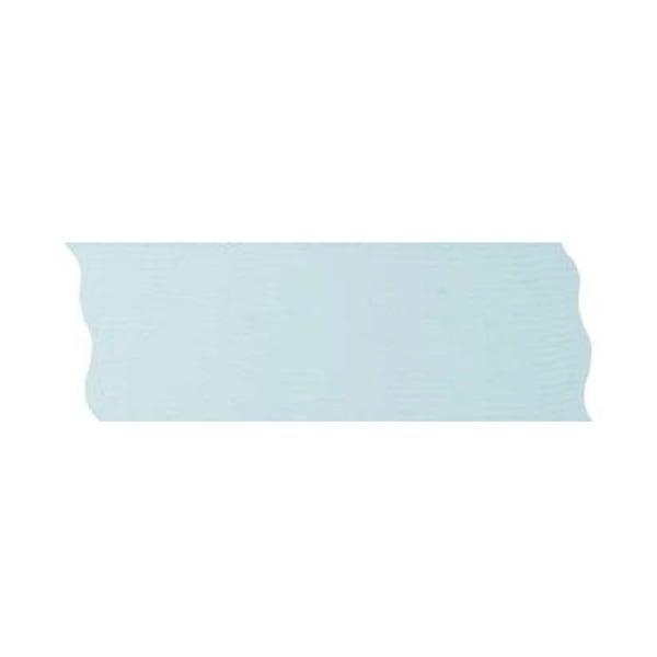 Лента шифон рязана, 40 mm, 10m Лента шифон рязана, 40 mm, 10m, светло синя