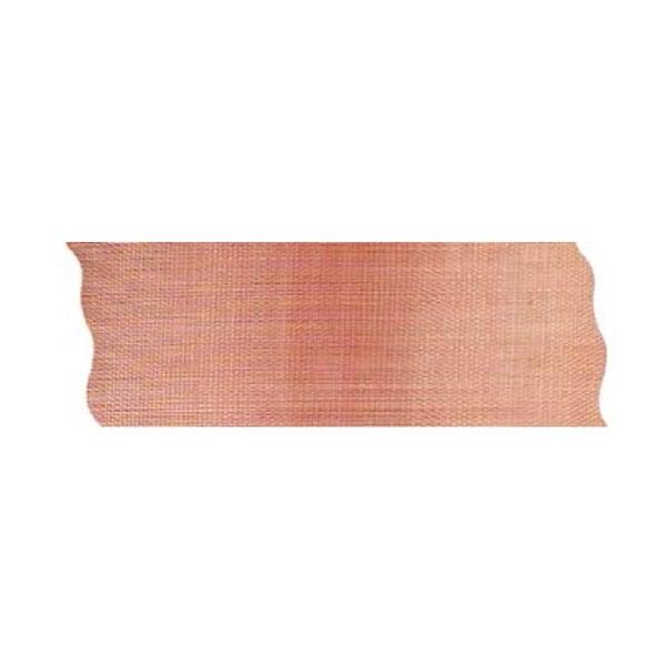 Лента шифон рязана, 40 mm, 10m Лента шифон рязана, 40 mm, 10m, тъмно оранжева