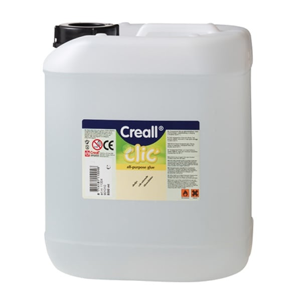 Лепило прозрачно универсално CREAL Clic, 5000 ml