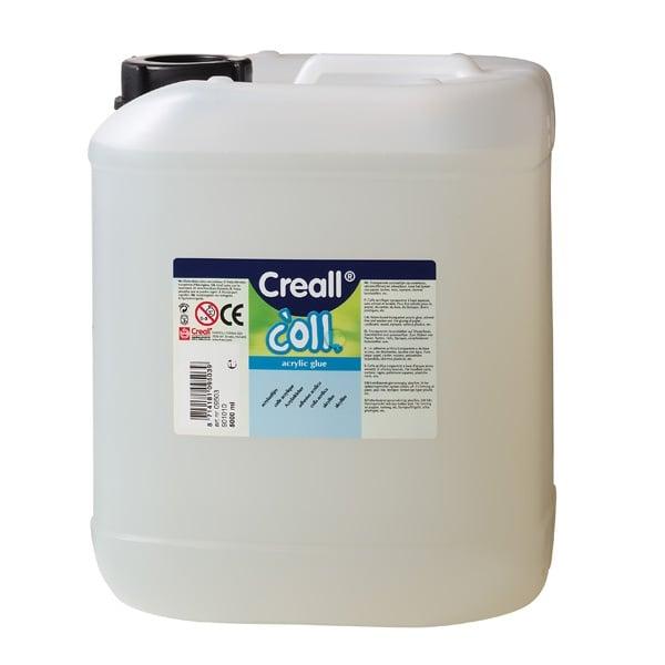 Лепило прозрачно универсално CREAL Coll, 5000 ml