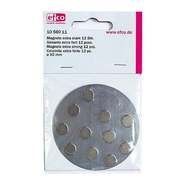 Магнити, изключително здрави, ф 10 mm, 12 бр.