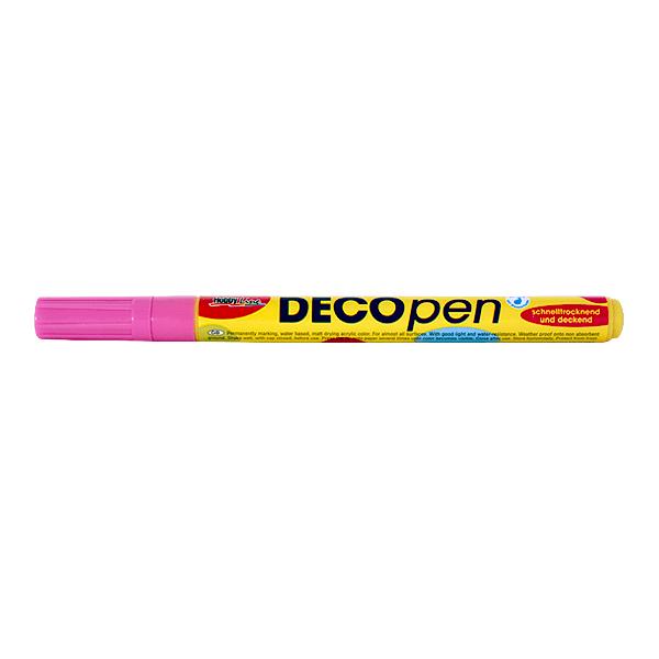 Маркери за декорация Decopen, 1-2 / 2-4 mm Маркер за декорация Decopen, 1-2 mm, розов