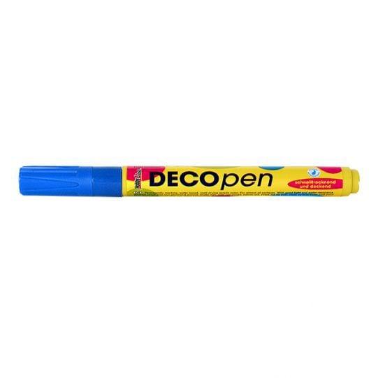 Маркери за декорация Decopen, 1-2 / 2-4 mm Маркер за декорация Decopen, 1-2 mm, син
