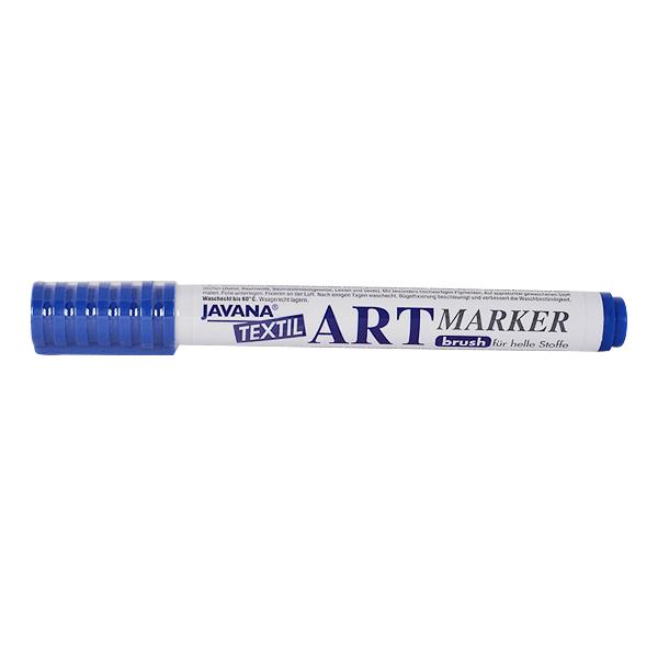 Маркер за рисуване  върху текстил Art Marker, JAVANA Маркер за рисуване Art Marker, JAVANA, син
