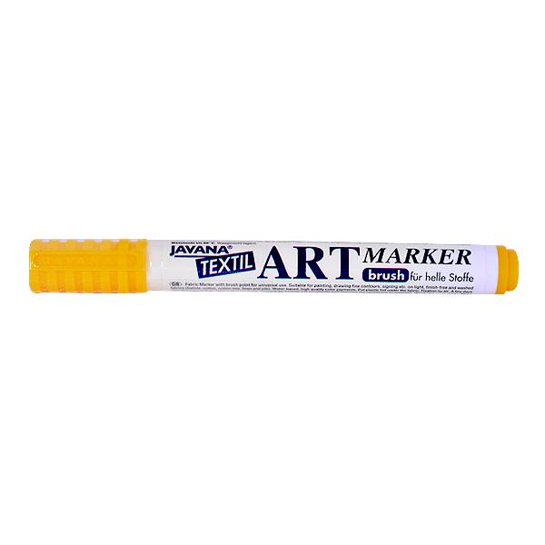 Маркер за рисуване  върху текстил Art Marker, JAVANA Маркер за рисуване Art Marker, JAVANA, жълт
