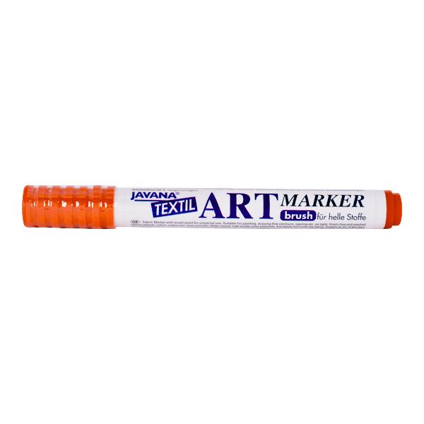 Маркер за рисуване  върху текстил Art Marker, JAVANA Маркер за рисуване Art Marker, JAVANA, оранжев