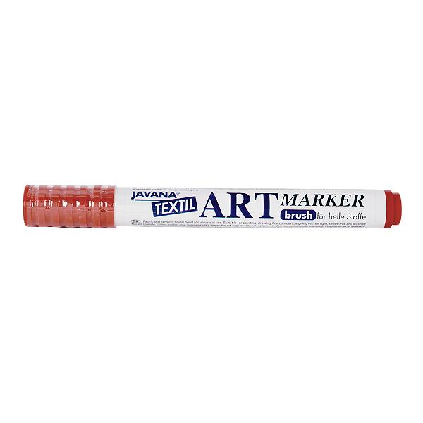 Маркер за рисуване  върху текстил Art Marker, JAVANA Маркер за рисуване Art Marker, JAVANA, пастелно кафяв