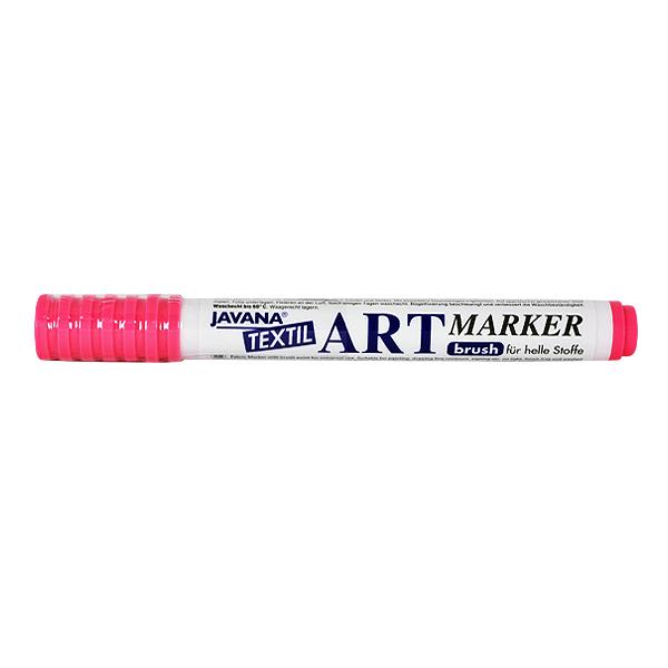 Маркер за рисуване  върху текстил Art Marker, JAVANA Маркер за рисуване Art Marker, JAVANA, пастелно розов