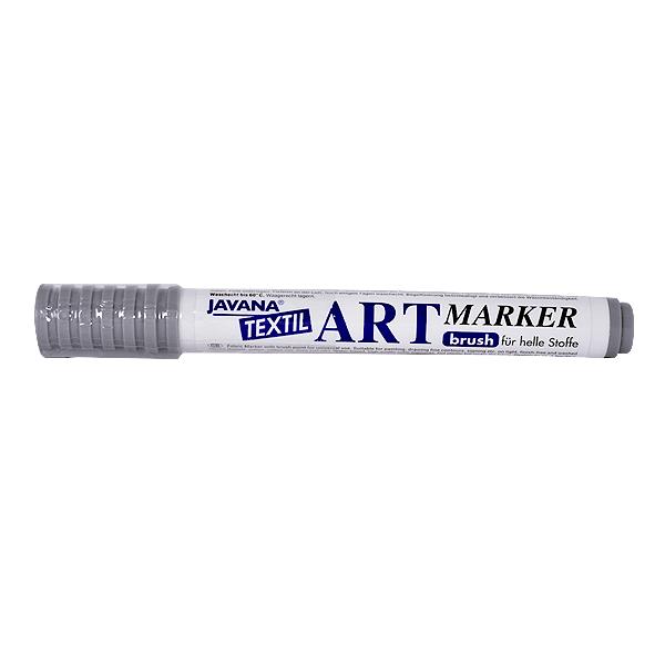 Маркер за рисуване  върху текстил Art Marker, JAVANA Маркер за рисуване Art Marker, JAVANA, пастелно сив