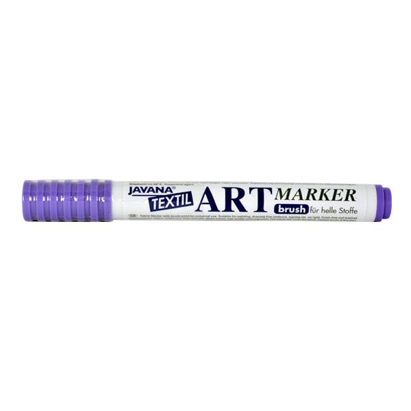 Маркер за рисуване  върху текстил Art Marker, JAVANA Маркер за рисуване Art Marker, JAVANA, пастелно виолетов