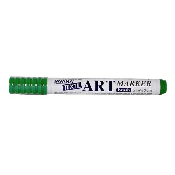 Маркер за рисуване  върху текстил Art Marker, JAVANA Маркер за рисуване Art Marker, JAVANA, пастелно зелен