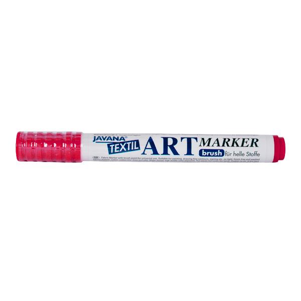 Маркер за рисуване  върху текстил Art Marker, JAVANA Маркер за рисуване Art Marker, JAVANA, розов