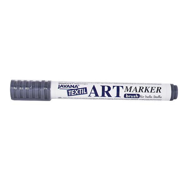 Маркер за рисуване  върху текстил Art Marker, JAVANA Маркер за рисуване Art Marker, JAVANA, сив