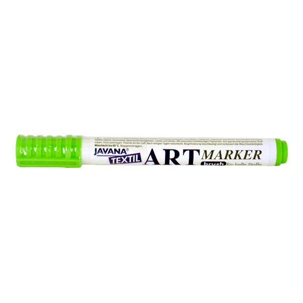 Маркер за рисуване  върху текстил Art Marker, JAVANA Маркер за рисуване Art Marker, JAVANA, светло зелен