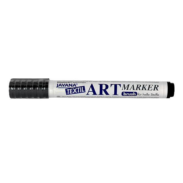 Маркер за рисуване  върху текстил Art Marker, JAVANA Маркер за рисуване Art Marker, JAVANA, черен