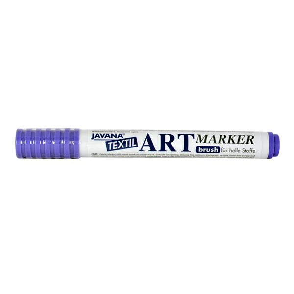 Маркер за рисуване  върху текстил Art Marker, JAVANA Маркер за рисуване Art Marker, JAVANA, виолетов
