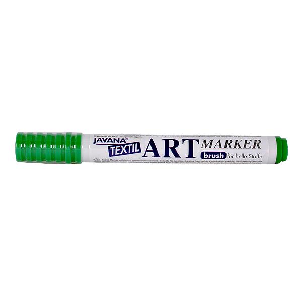 Маркер за рисуване  върху текстил Art Marker, JAVANA Маркер за рисуване Art Marker, JAVANA, зелен
