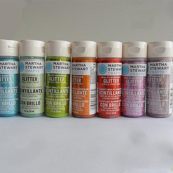 Акрилни бои Martha Stewart, 59 ml, Glitter