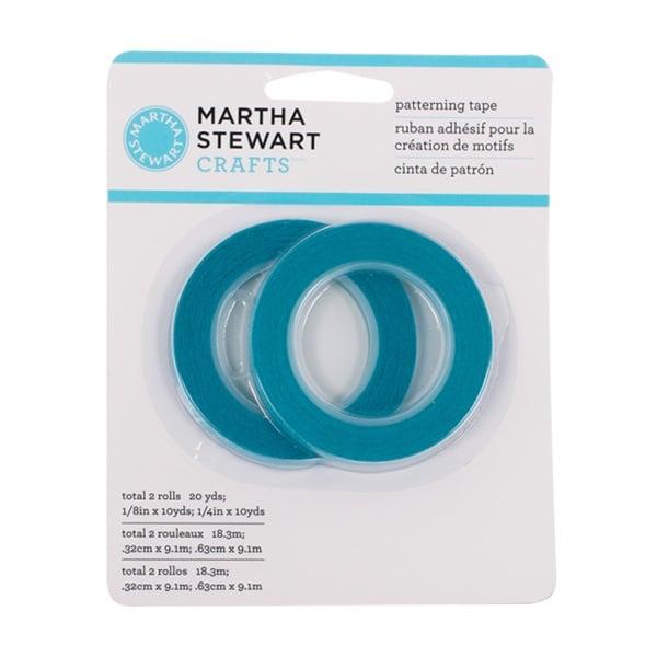 Маскираща лента Martha Stewart, 3 + 6 mm x 9,10 m, 2 ролки